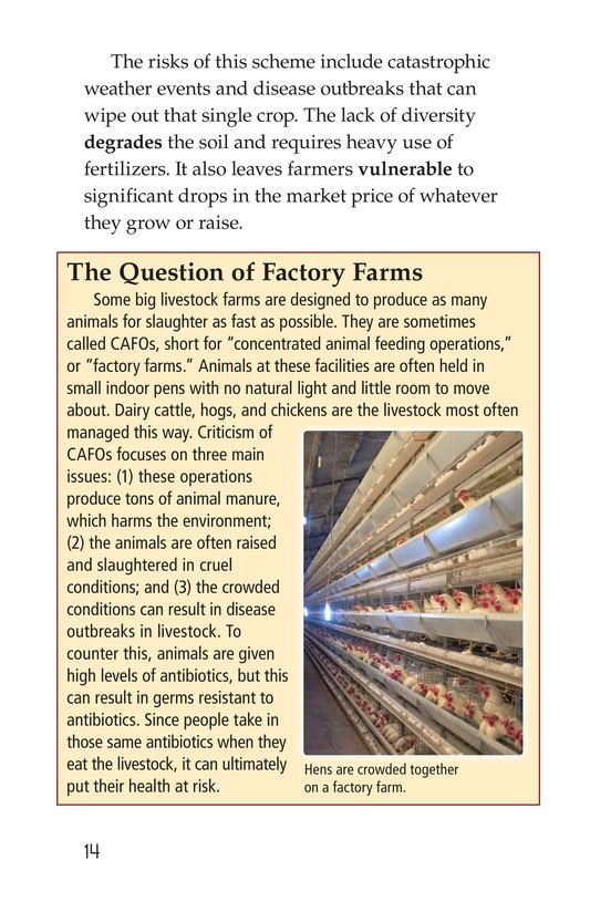 Book Preview For American Farms: Past, Present, and Future Page 14
