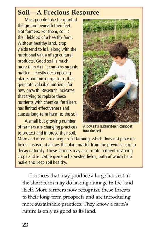 Book Preview For American Farms: Past, Present, and Future Page 20