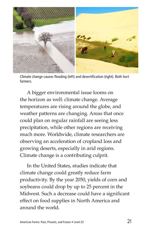 Book Preview For American Farms: Past, Present, and Future Page 21