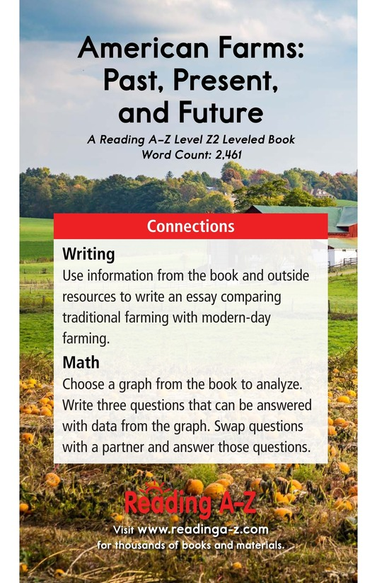 Book Preview For American Farms: Past, Present, and Future Page 25