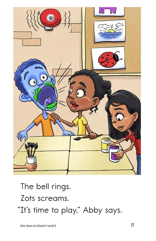 Book Preview For Zots Goes to School Page 11