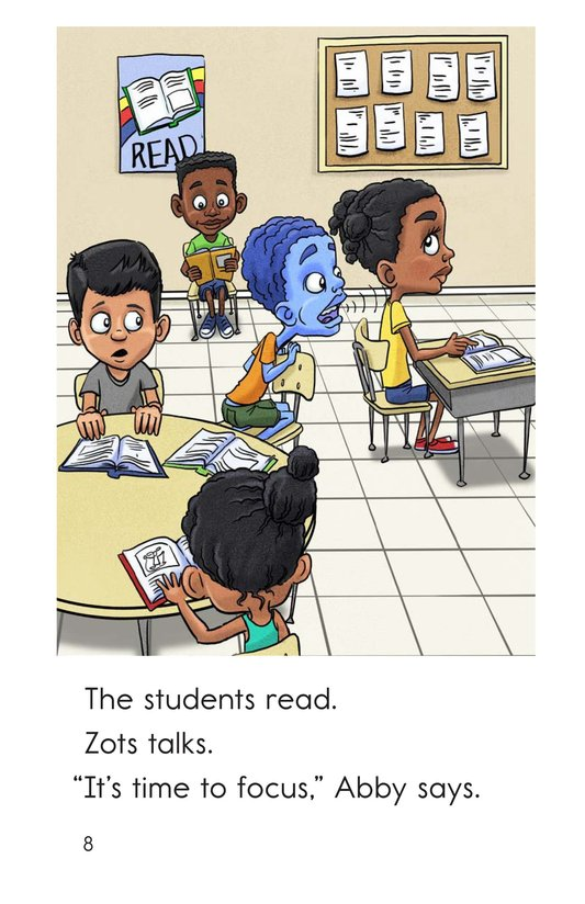 Book Preview For Zots Goes to School Page 8