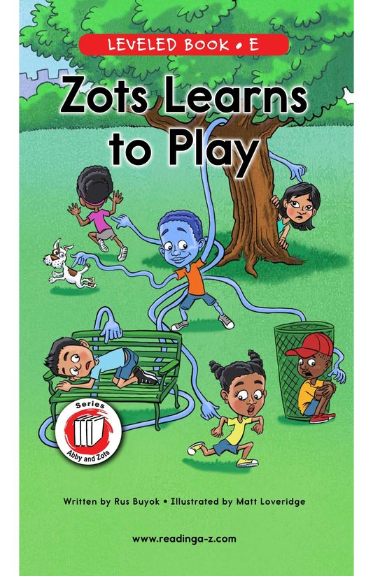 Book Preview For Zots Learns to Play Page 0