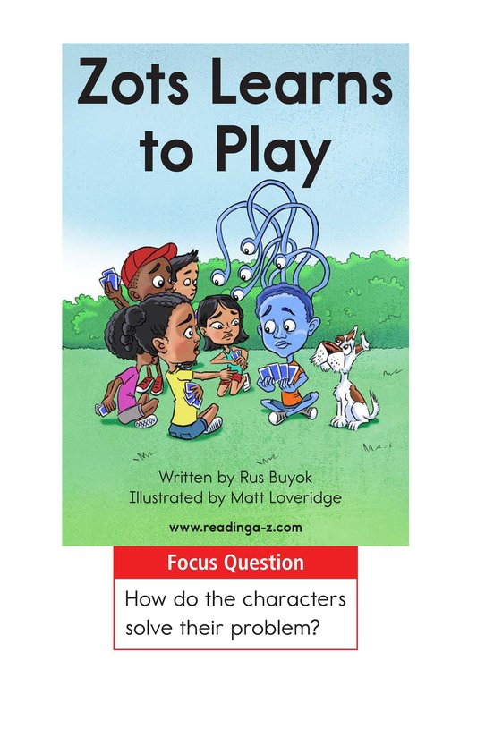 Book Preview For Zots Learns to Play Page 1