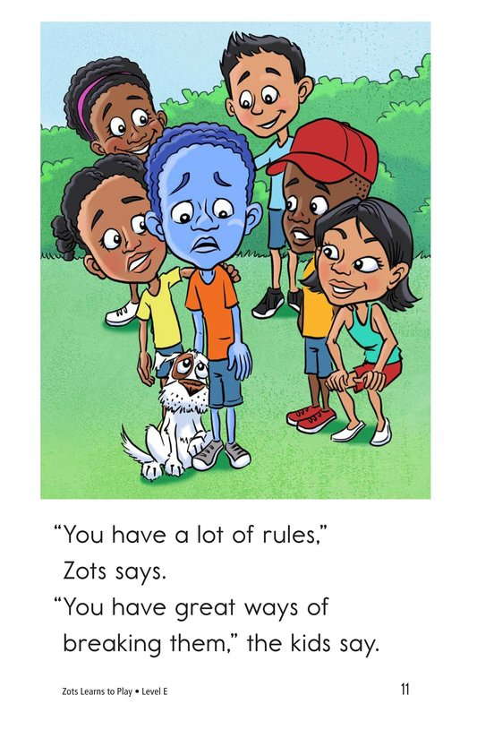 Book Preview For Zots Learns to Play Page 11