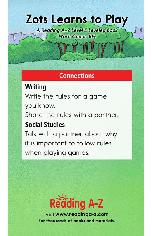 Book Preview For Zots Learns to Play Page 13