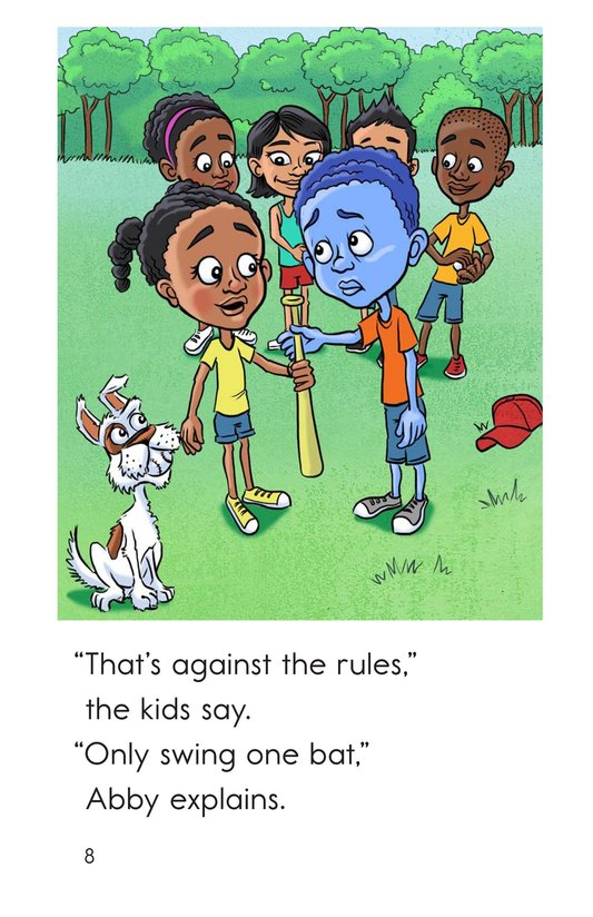 Book Preview For Zots Learns to Play Page 8