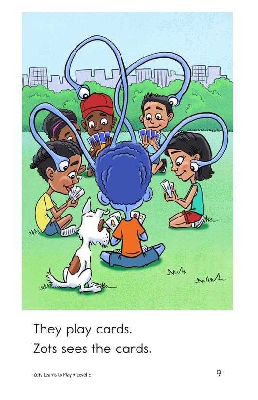 Book Preview For Zots Learns to Play Page 9