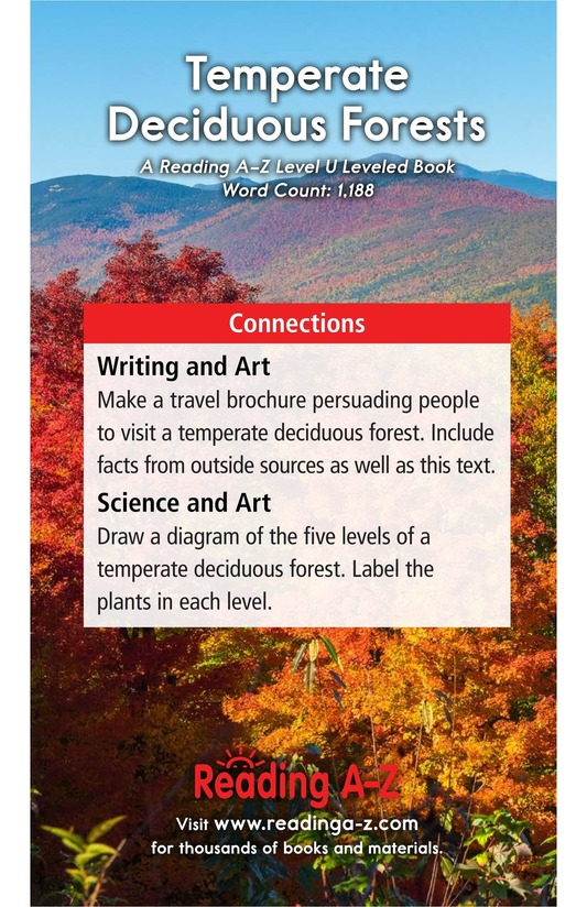 Book Preview For Temperate Deciduous Forests Page 17