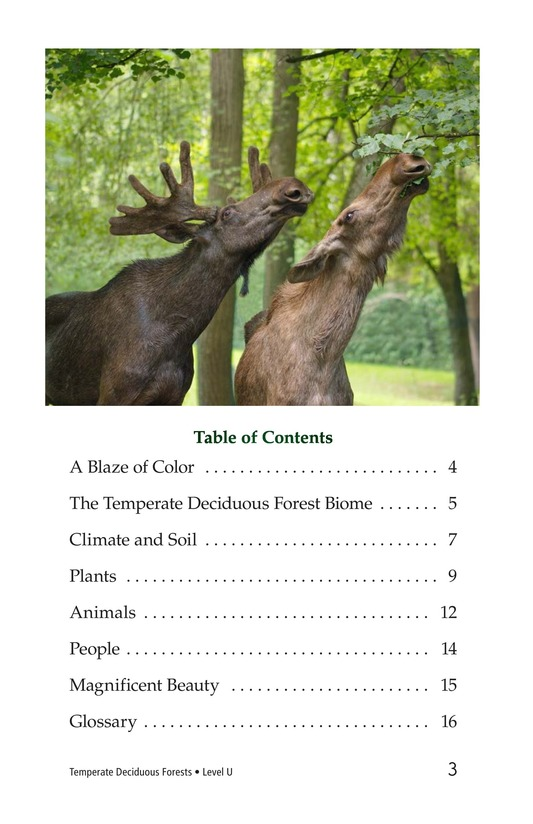 Book Preview For Temperate Deciduous Forests Page 3