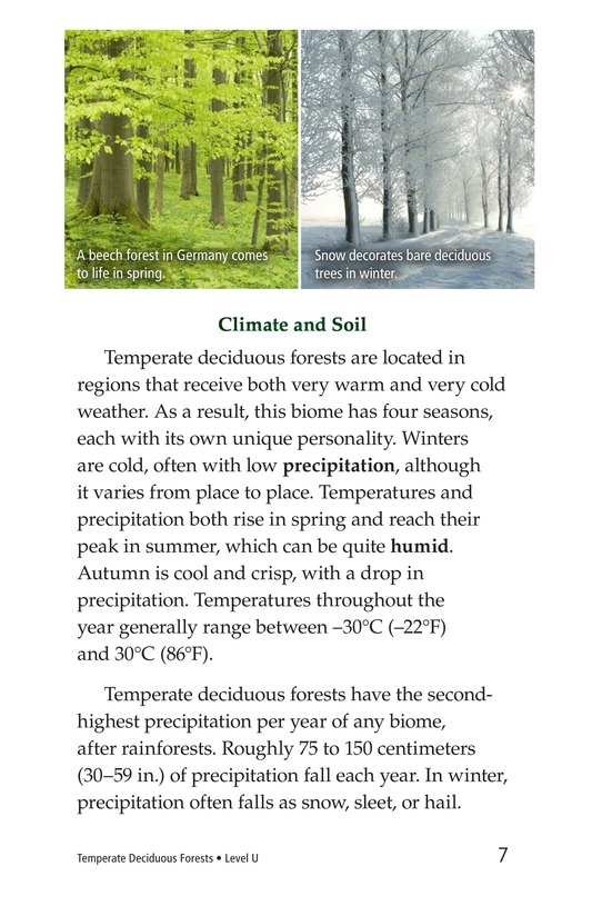 Book Preview For Temperate Deciduous Forests Page 7