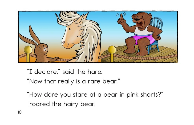 Book Preview For The Mare and the Hare Page 10