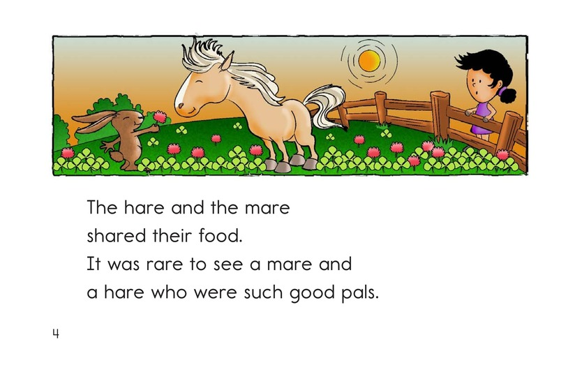 Book Preview For The Mare and the Hare Page 4