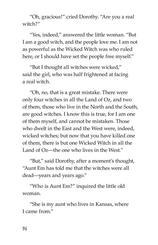 Book Preview For The Wonderful Wizard of Oz (Part 1) Page 14