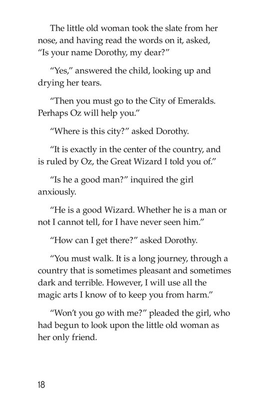Book Preview For The Wonderful Wizard of Oz (Part 1) Page 18
