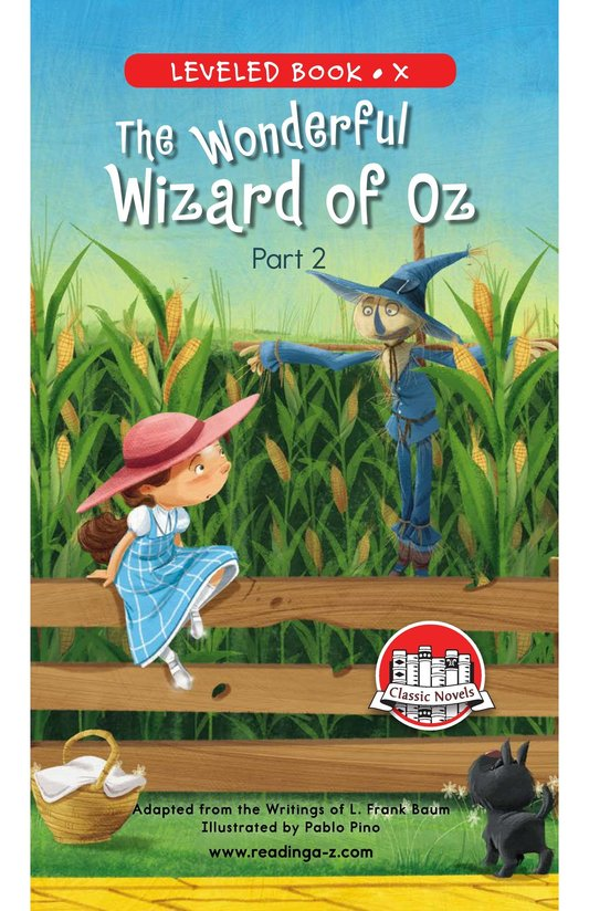 Book Preview For The Wonderful Wizard of Oz (Part 2) Page 0