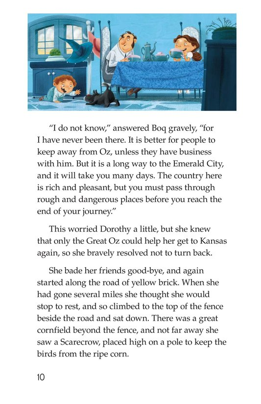 Book Preview For The Wonderful Wizard of Oz (Part 2) Page 10