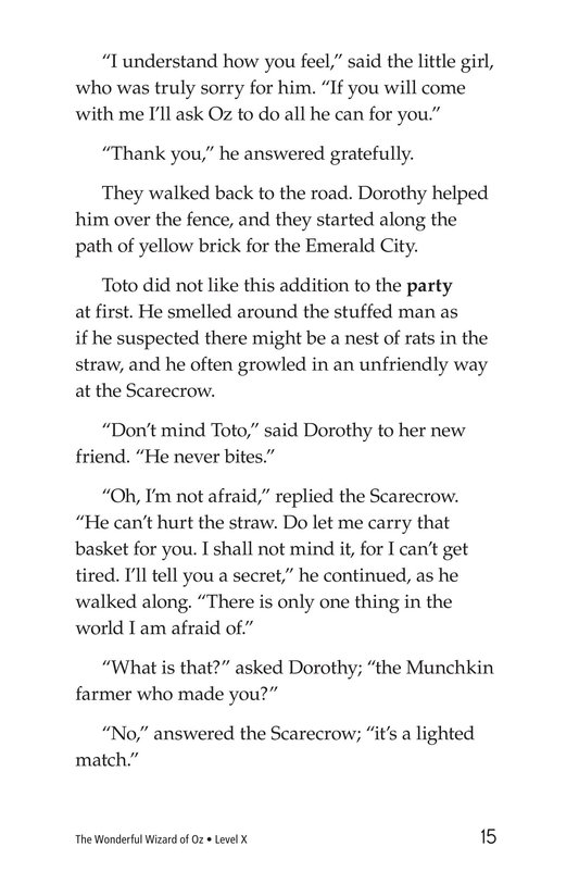 Book Preview For The Wonderful Wizard of Oz (Part 2) Page 15
