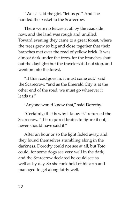 Book Preview For The Wonderful Wizard of Oz (Part 2) Page 22