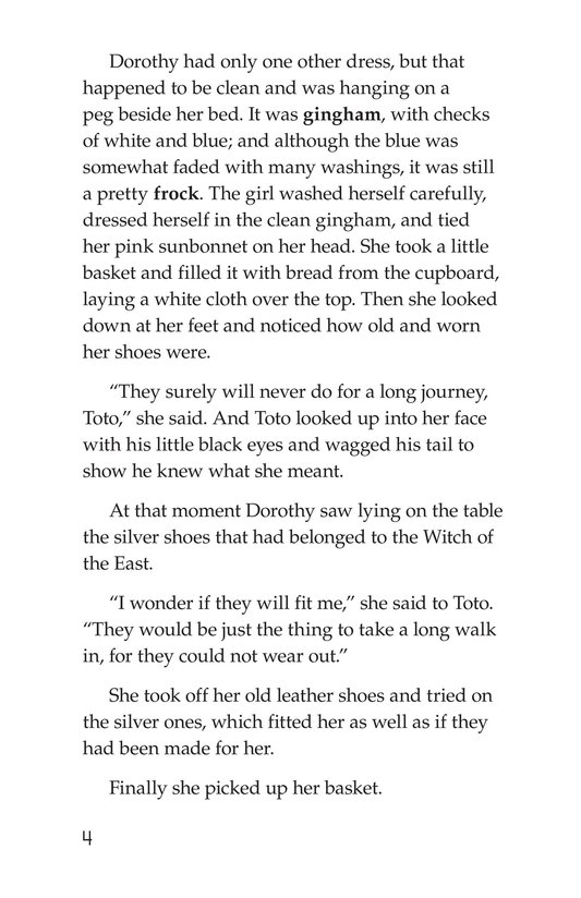 Book Preview For The Wonderful Wizard of Oz (Part 2) Page 4