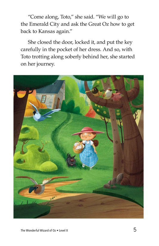 Book Preview For The Wonderful Wizard of Oz (Part 2) Page 5