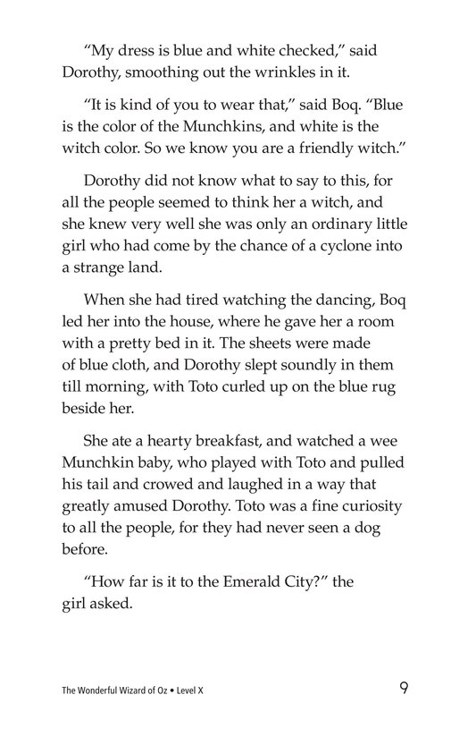Book Preview For The Wonderful Wizard of Oz (Part 2) Page 9