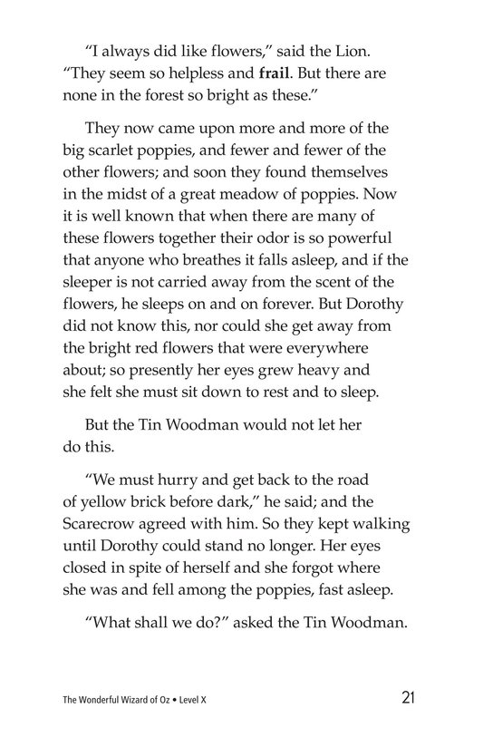 Book Preview For The Wonderful Wizard of Oz (Part 4) Page 21