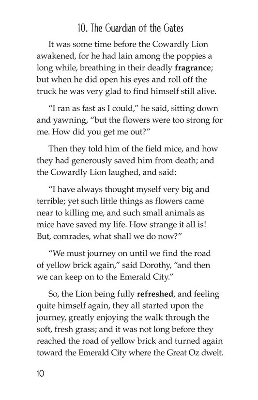Book Preview For The Wonderful Wizard of Oz (Part 5) Page 10