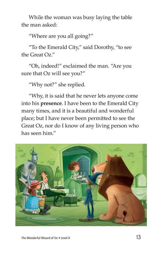 Book Preview For The Wonderful Wizard of Oz (Part 5) Page 13