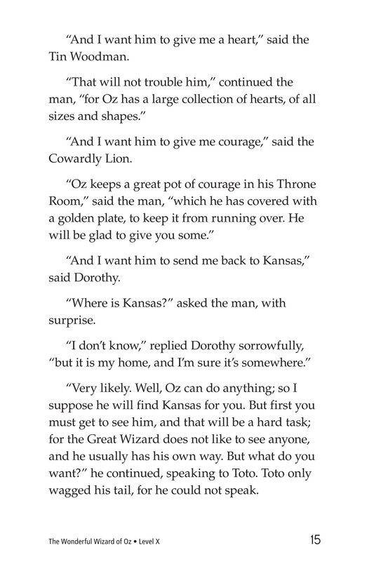 Book Preview For The Wonderful Wizard of Oz (Part 5) Page 15