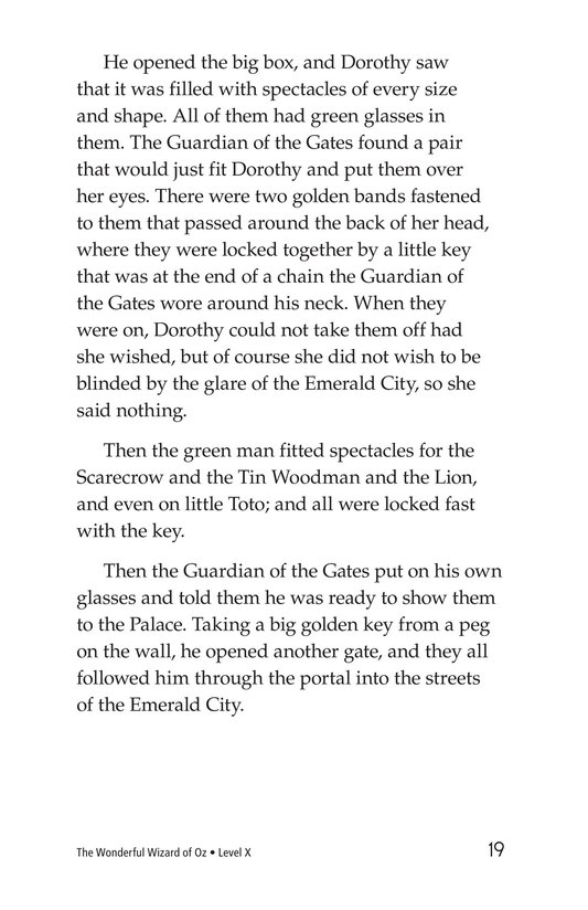 Book Preview For The Wonderful Wizard of Oz (Part 5) Page 19