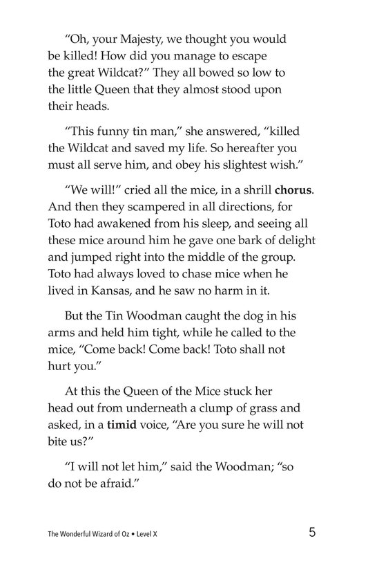 Book Preview For The Wonderful Wizard of Oz (Part 5) Page 5
