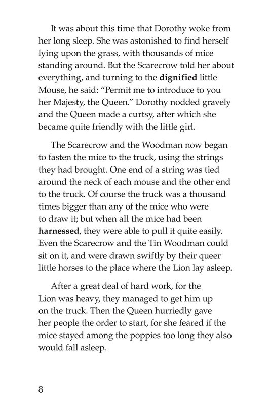 Book Preview For The Wonderful Wizard of Oz (Part 5) Page 8