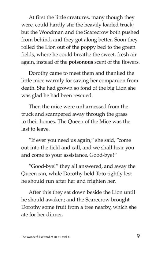 Book Preview For The Wonderful Wizard of Oz (Part 5) Page 9