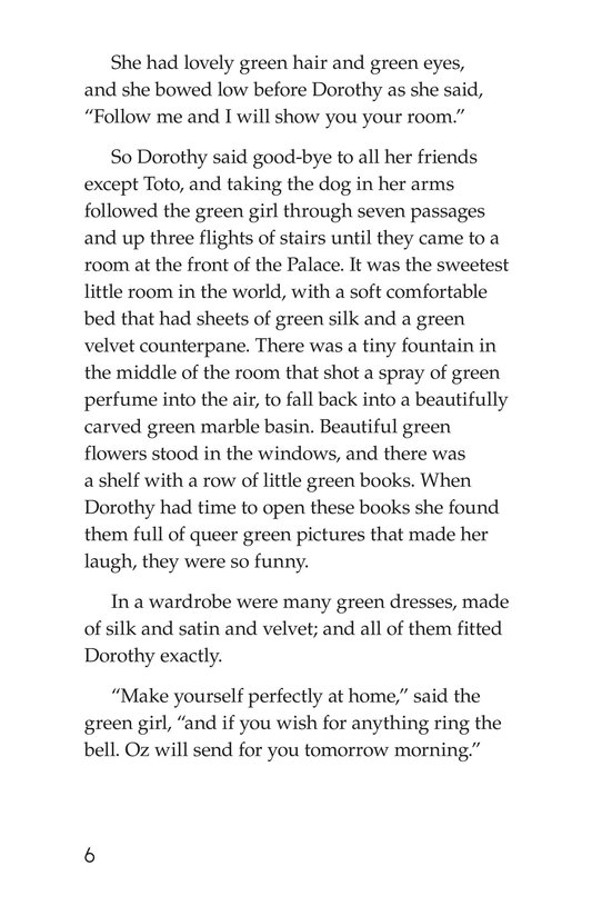 Book Preview For The Wonderful Wizard of Oz (Part 6) Page 6