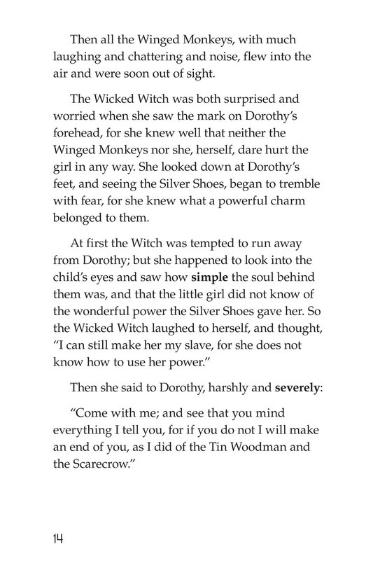 Book Preview For The Wonderful Wizard of Oz (Part 7) Page 14