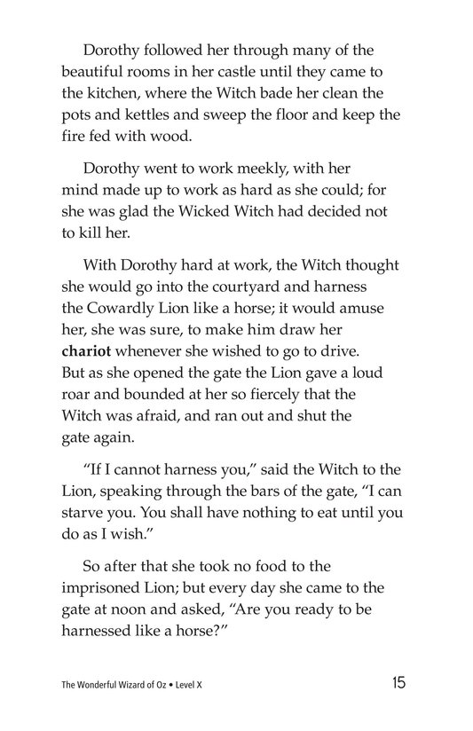 Book Preview For The Wonderful Wizard of Oz (Part 7) Page 15