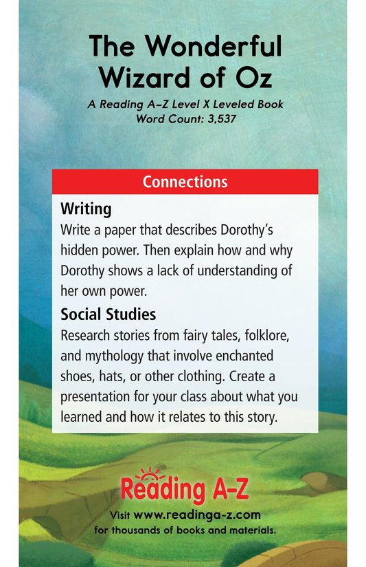 Book Preview For The Wonderful Wizard of Oz (Part 7) Page 21