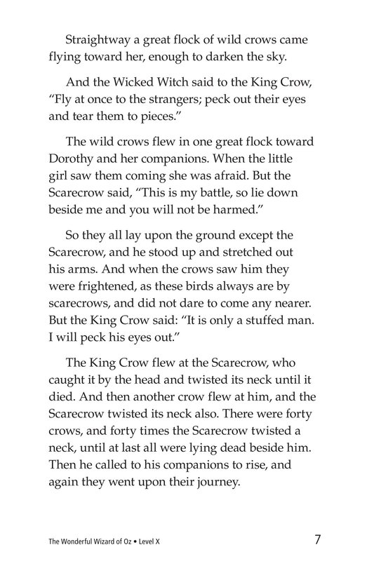 Book Preview For The Wonderful Wizard of Oz (Part 7) Page 7