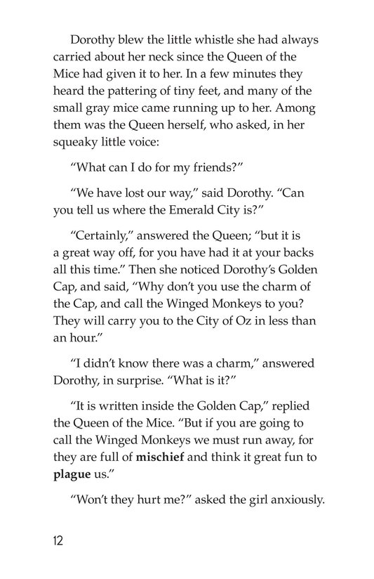 Book Preview For The Wonderful Wizard of Oz (Part 8) Page 12