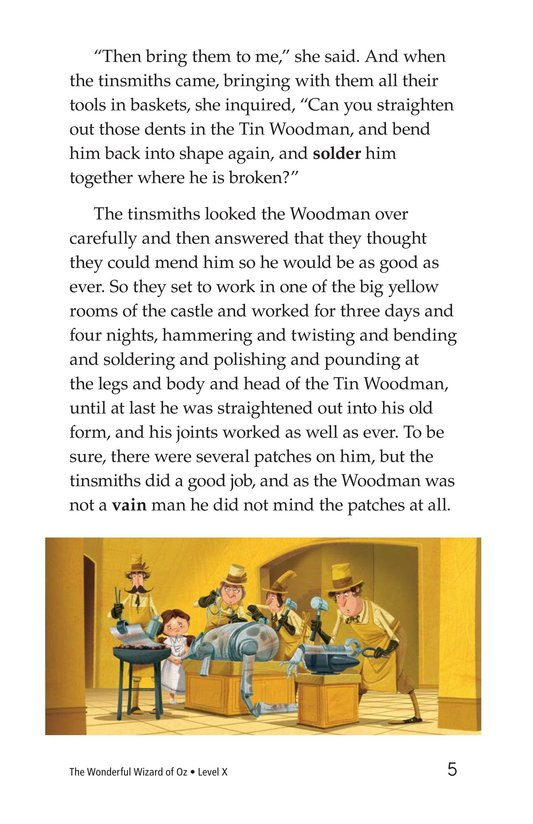 Book Preview For The Wonderful Wizard of Oz (Part 8) Page 5