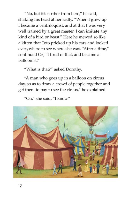 Book Preview For The Wonderful Wizard of Oz (Part 9) Page 12