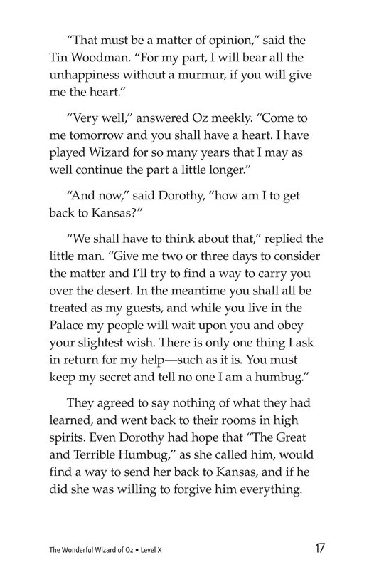 Book Preview For The Wonderful Wizard of Oz (Part 9) Page 17