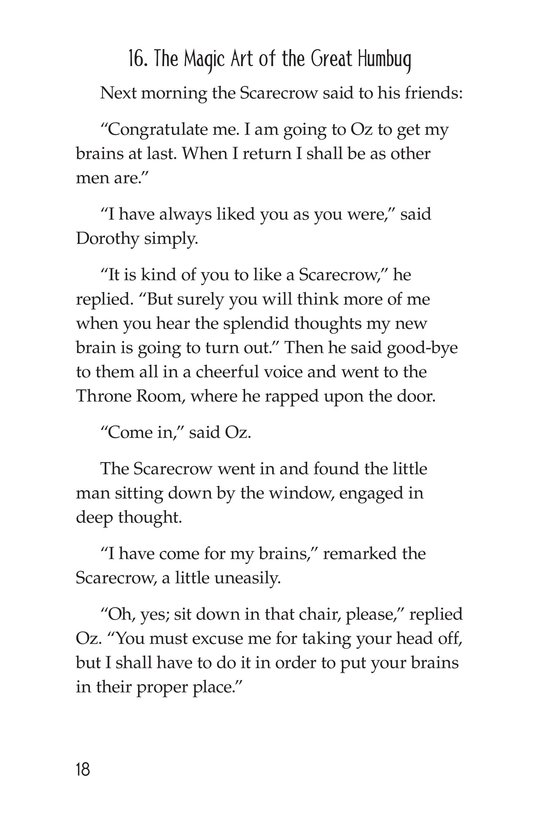 Book Preview For The Wonderful Wizard of Oz (Part 9) Page 18