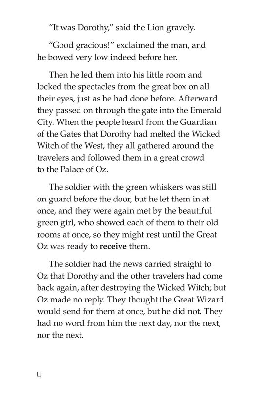 Book Preview For The Wonderful Wizard of Oz (Part 9) Page 4