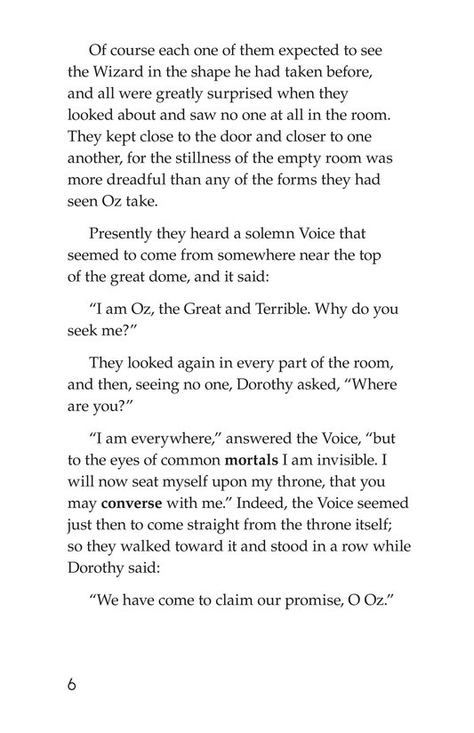 Book Preview For The Wonderful Wizard of Oz (Part 9) Page 6