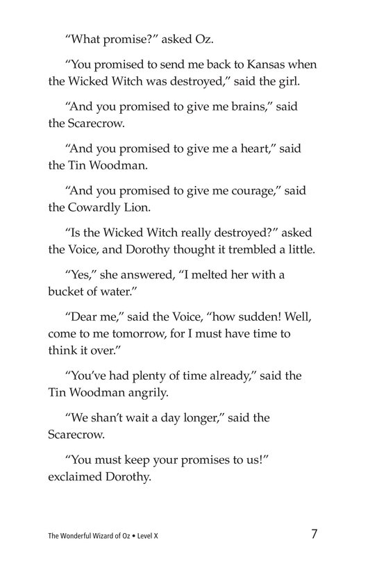 Book Preview For The Wonderful Wizard of Oz (Part 9) Page 7