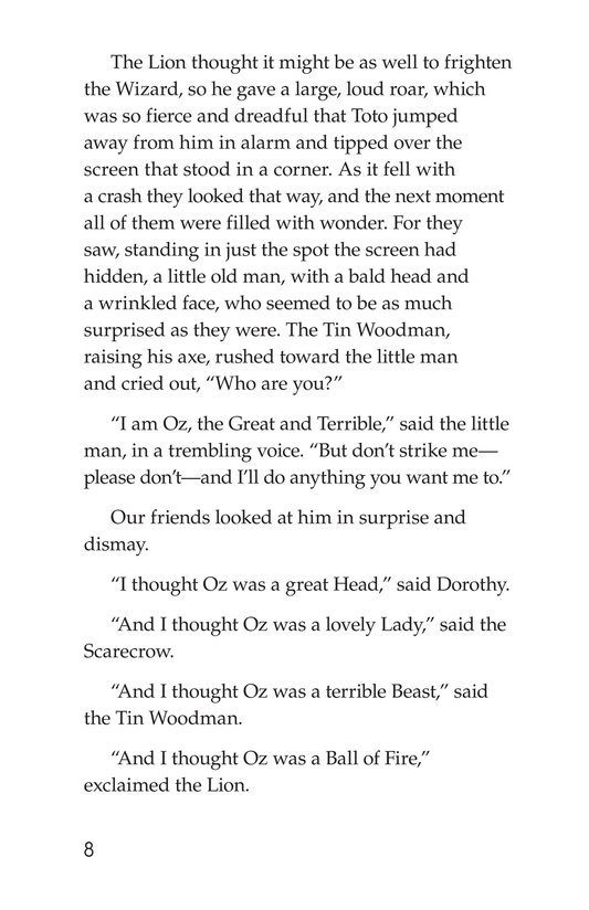 Book Preview For The Wonderful Wizard of Oz (Part 9) Page 8