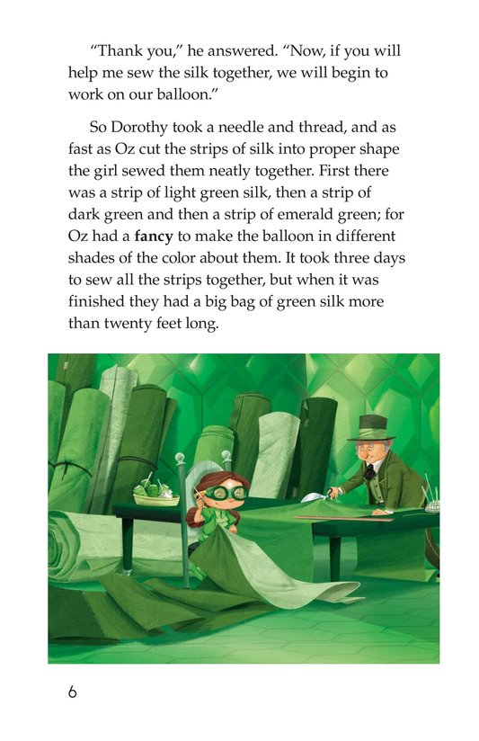 Book Preview For The Wonderful Wizard of Oz (Part 10) Page 6