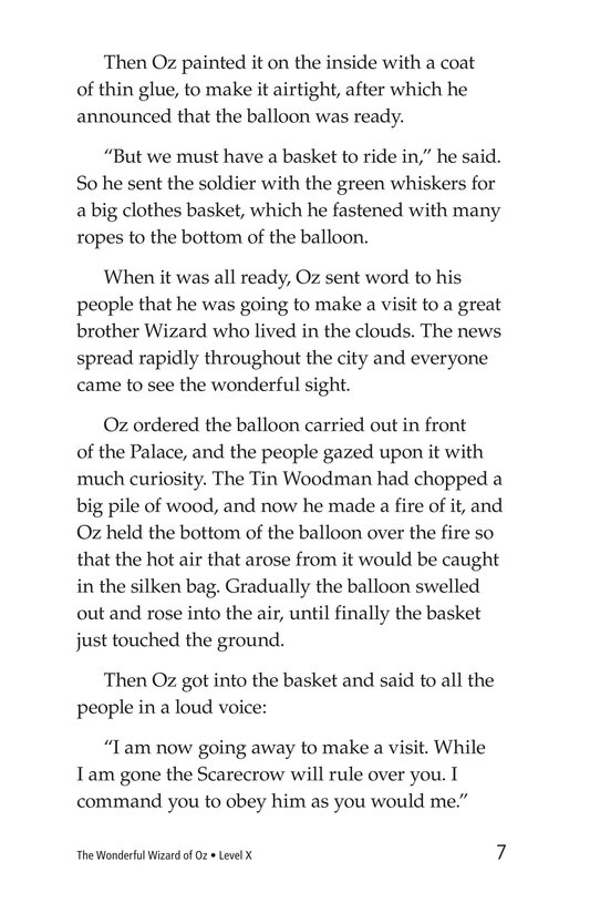 Book Preview For The Wonderful Wizard of Oz (Part 10) Page 7